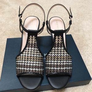 NIB Cole Haan Maddie Open Toe Wedge Sandal Sz 9